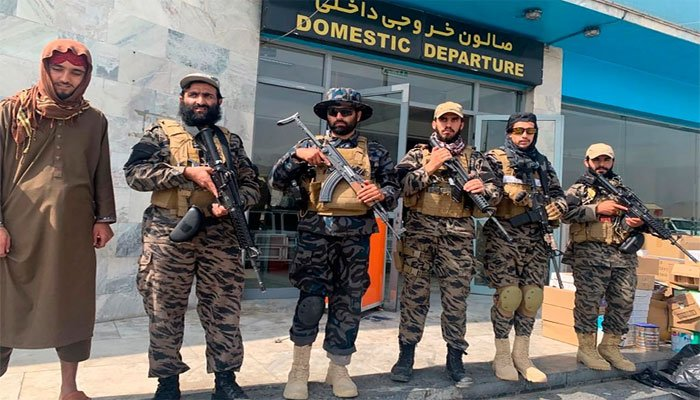 The Taliban took full control of Kabul Airport